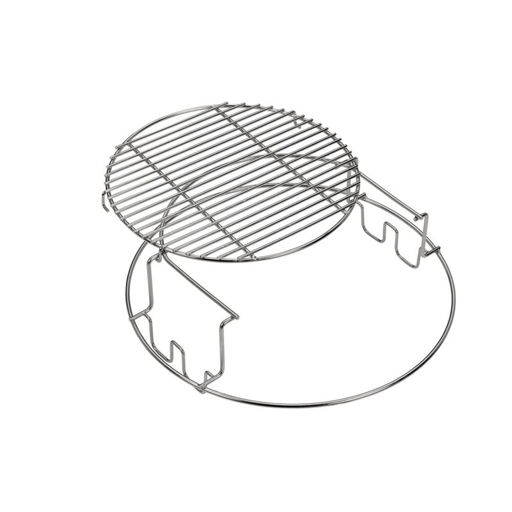 Big Green Egg Grillrost 2-Teiliger Ständerrost für XLarge Edelstahl