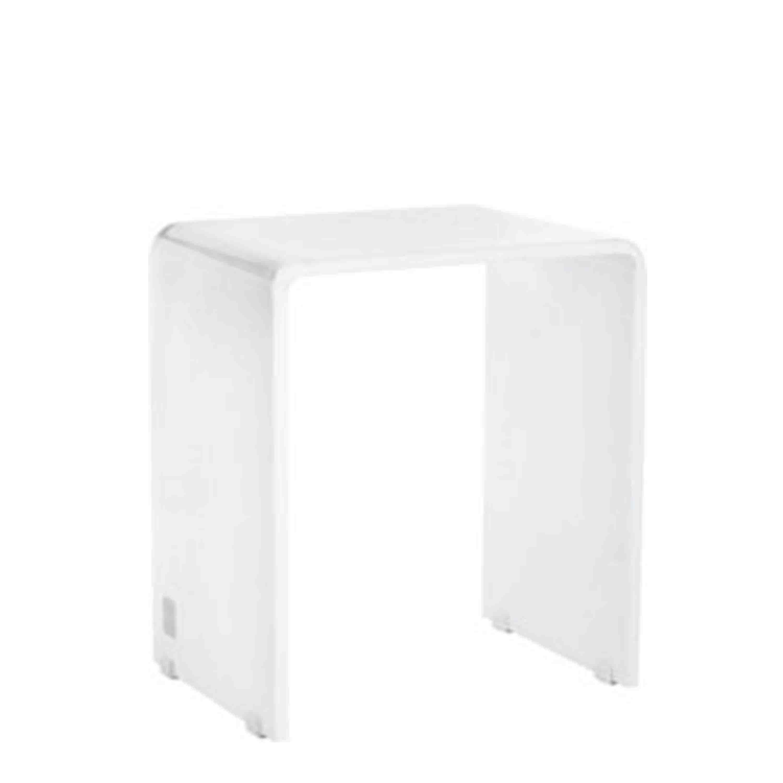 Joop! Badhocker Lifestyle 47x30x42 cm Weiß