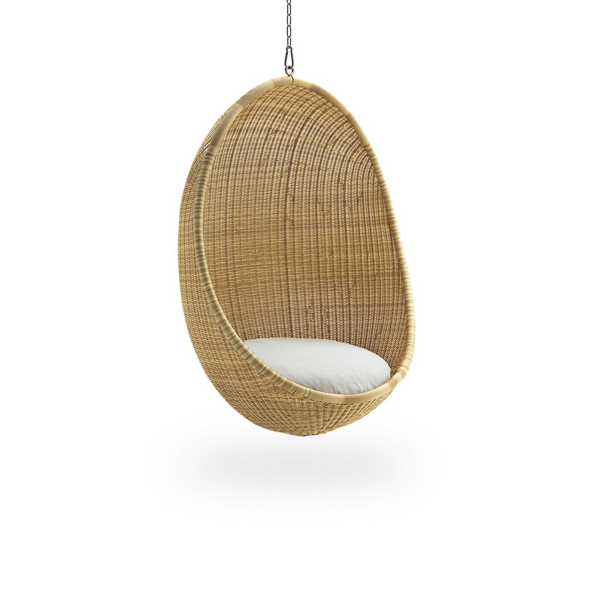 Sika Design Lounge-Sessel Hanging Egg Natur