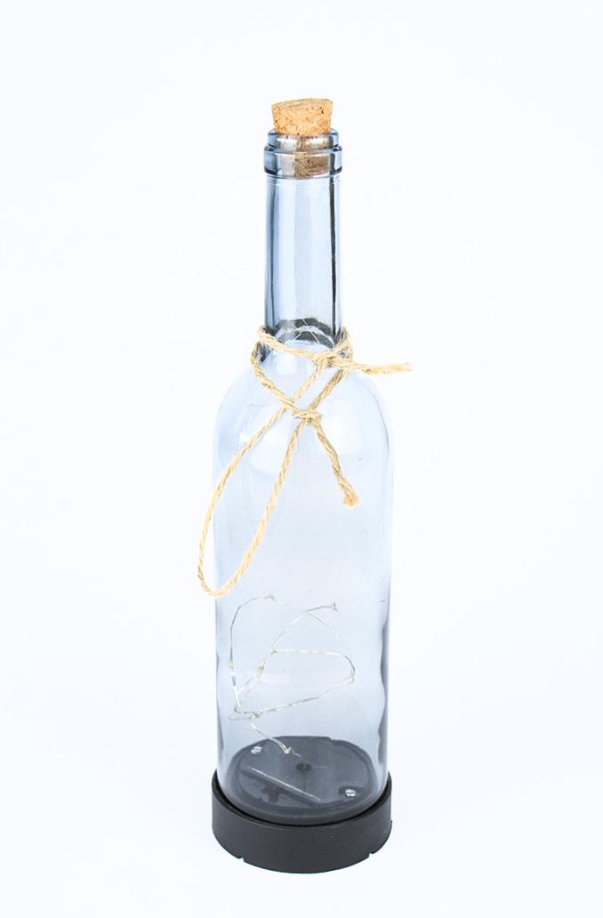 Micro LED Solarflasche Deko Flasche