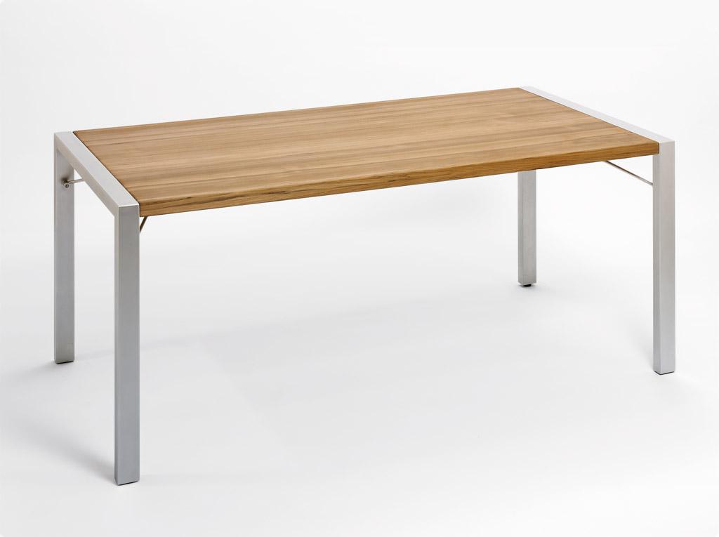 Weishäupl Gartentisch Flip 180x90 cm Grau