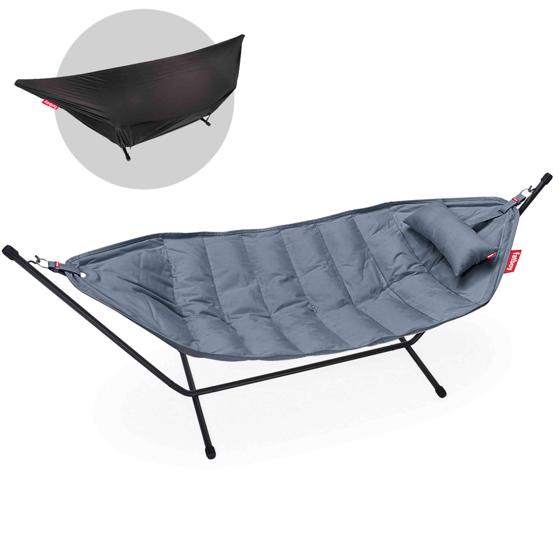 fatboy Hängematte Headdemock sunbrella deluxe Steel Blue
