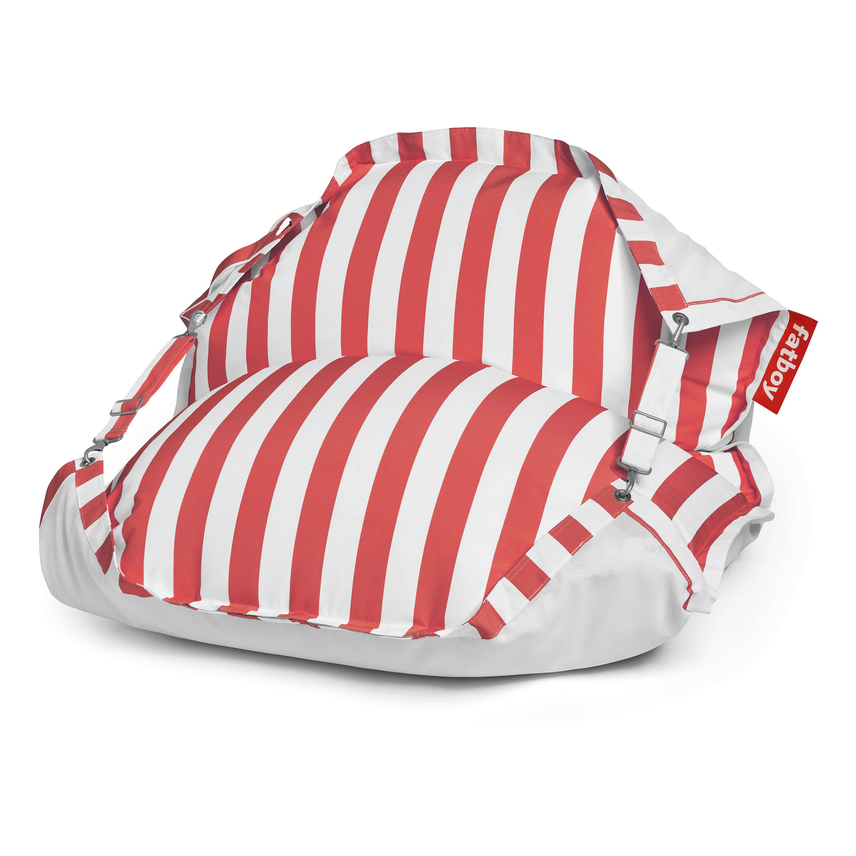 fatboy Schwimmender Sitzsack Original Floatzac Stripe Red