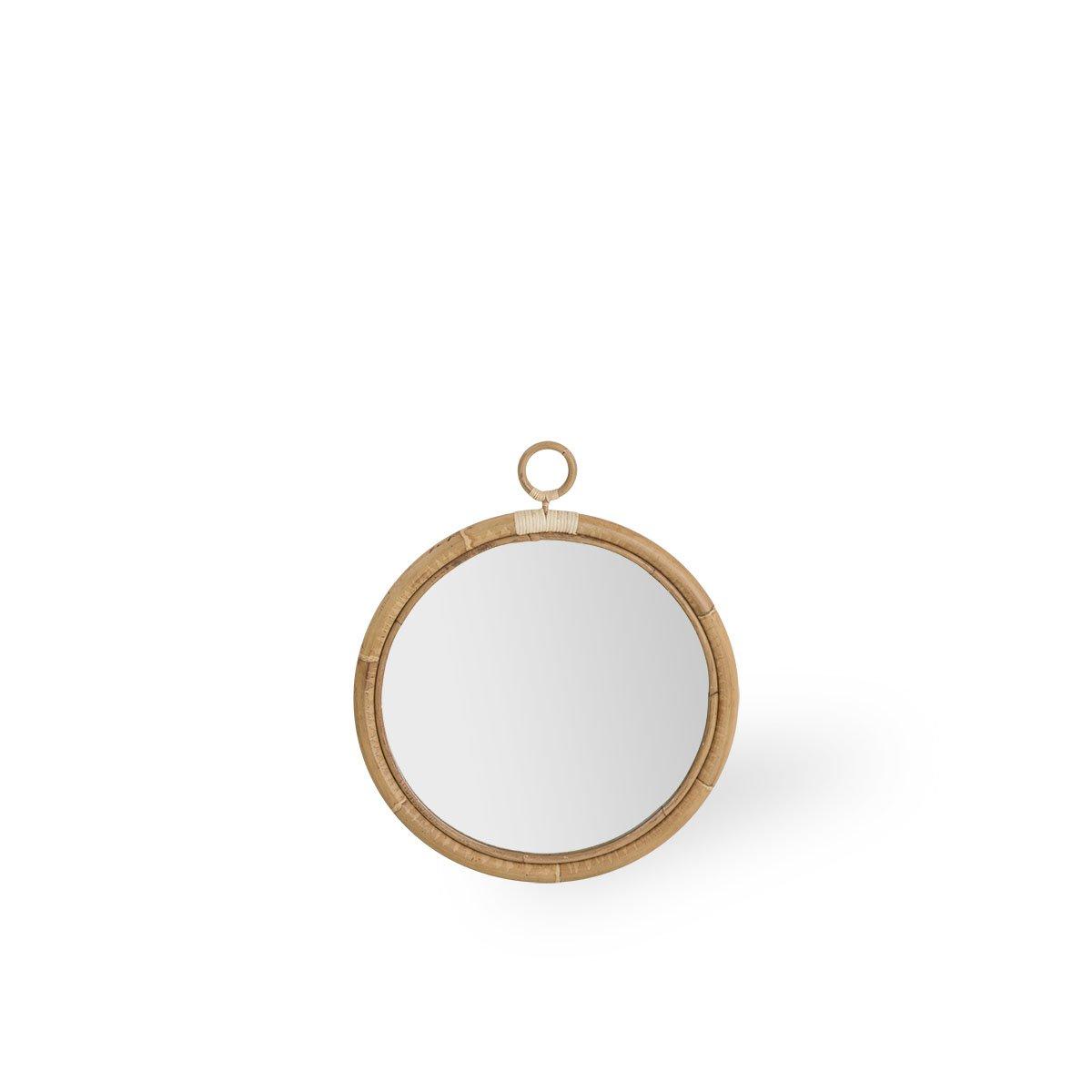 Sika Design Spiegel Ella Ø50 cm Natur