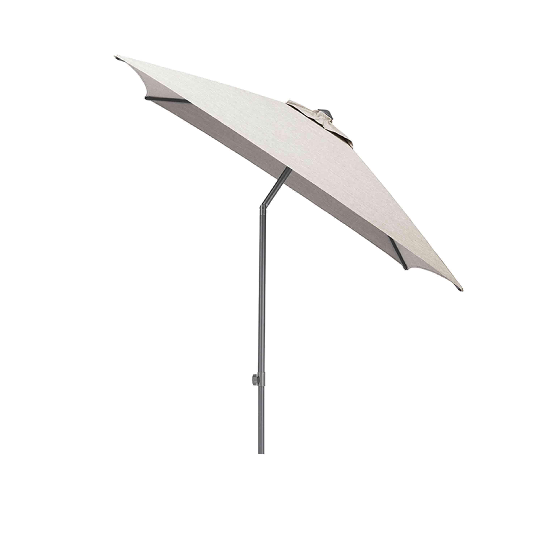 Kettler Sonnenschirm Easy Push 200x200 cm Anthrazit/Hellgrau Meliert