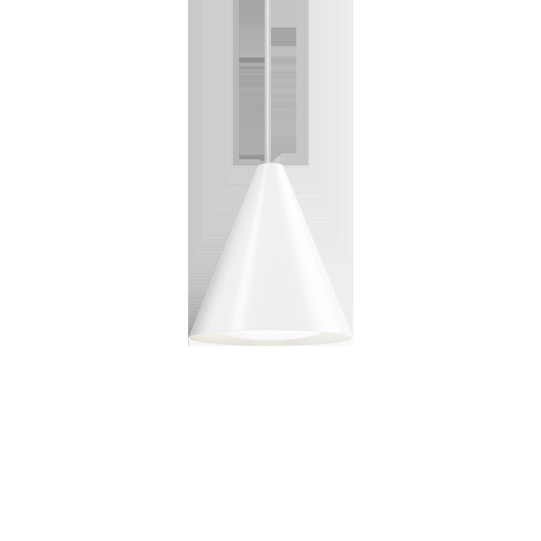Louis Poulsen Keglen Ø250 Pendelleuchte Weiß