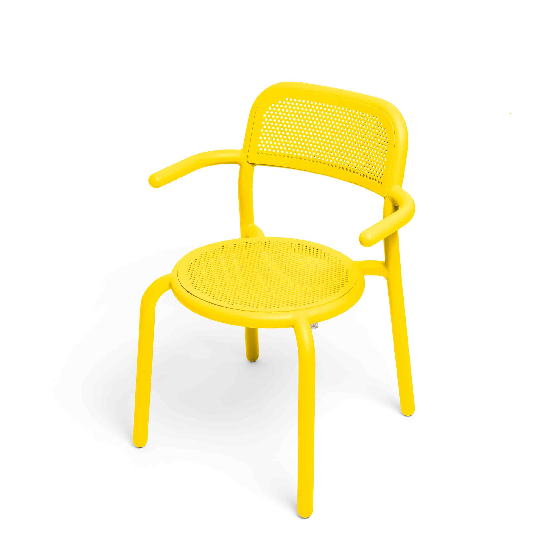 fatboy Gartenstuhl Toni Armchair 4er-Set Lemon