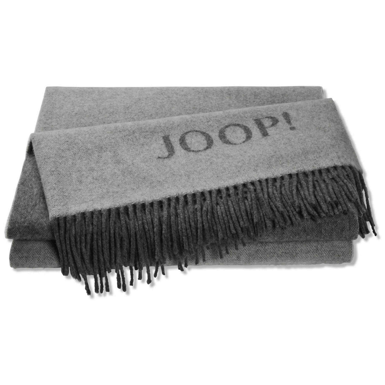 Joop! Plaid Fine Doubleface 130x180 cm Graphit Schief