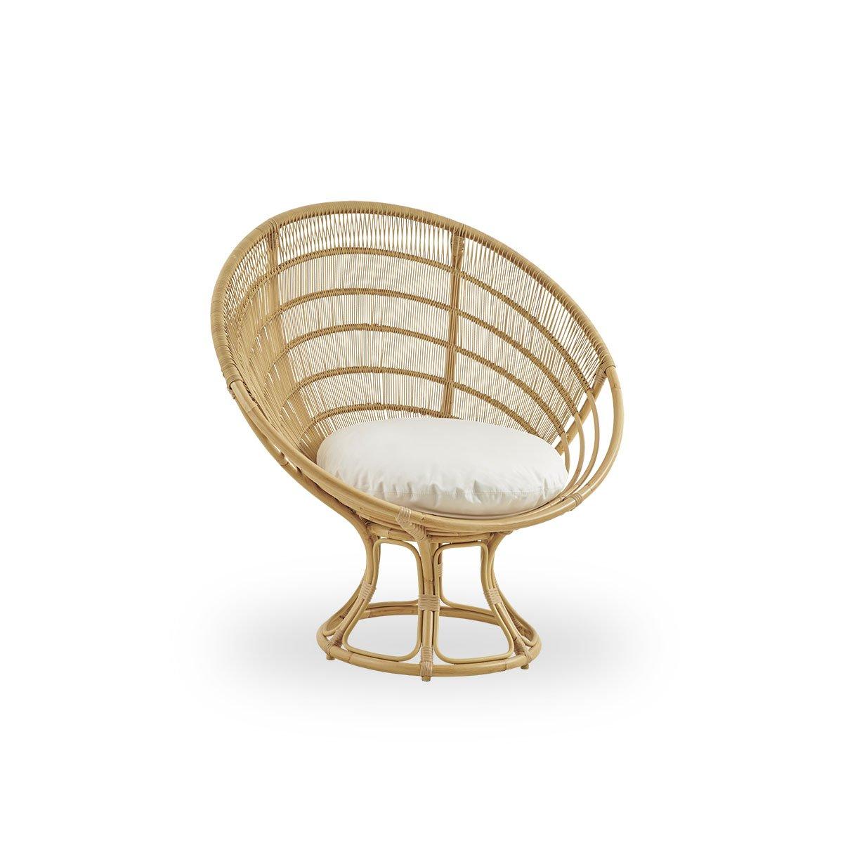 Sika Design Lounge-Sessel Luna Natur