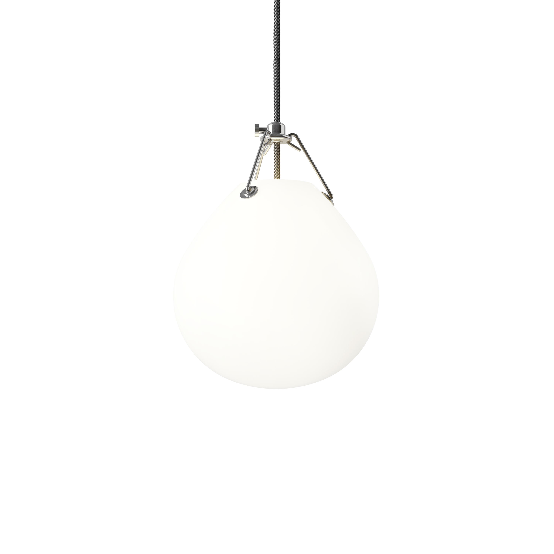 Louis Poulsen Moser Ø185 Pendelleuchte Opalglas Weiß Matt