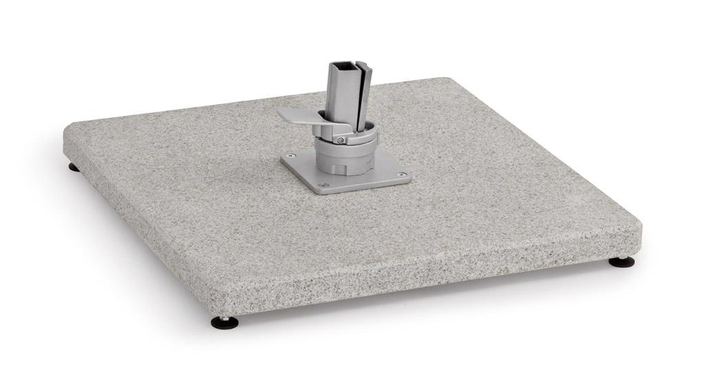 Weishäupl Bodenplatte Granit Grau