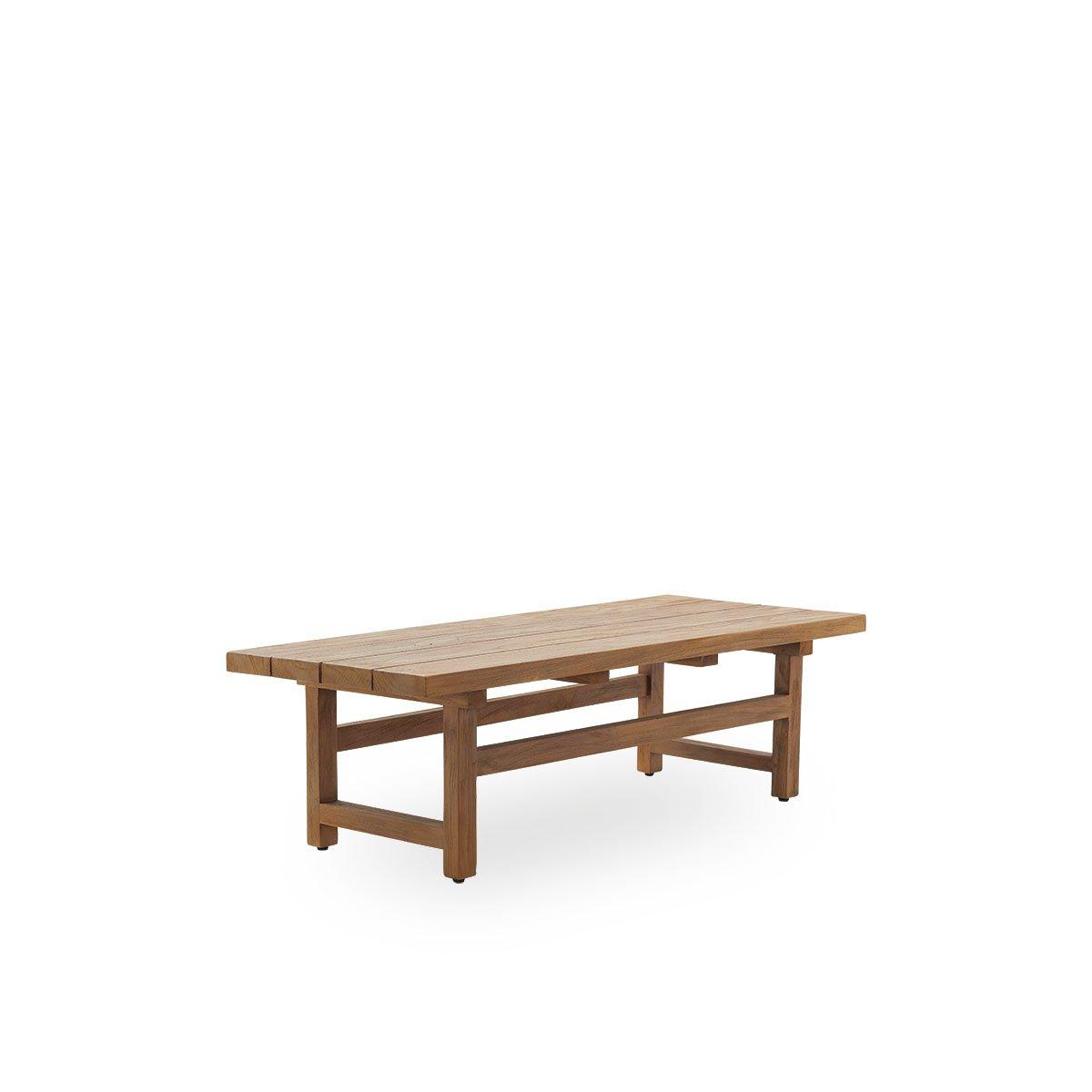 Sika Design Garten-Beistelltisch Julian 140x40 cm Teak