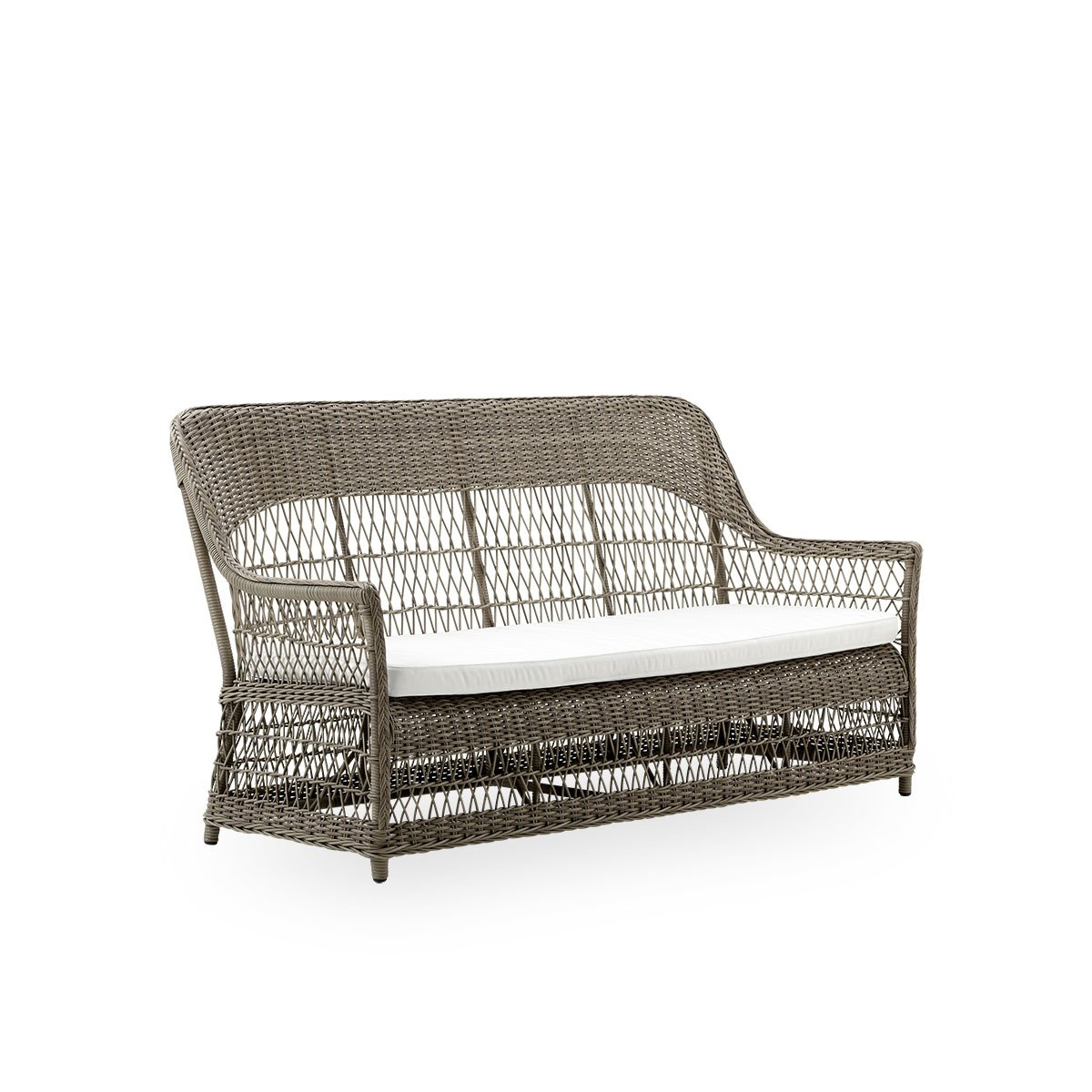 Sika Design Gartensofa Charlot 2-Sitzer Antik Grau