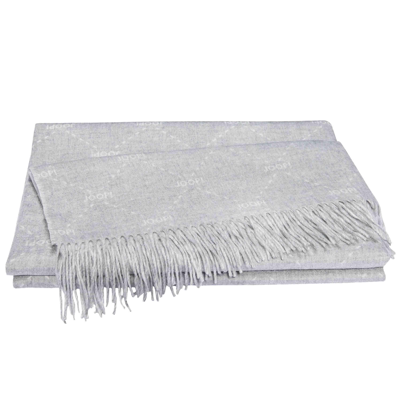 Joop! Plaid Fine Signature 130x170 cm Silber