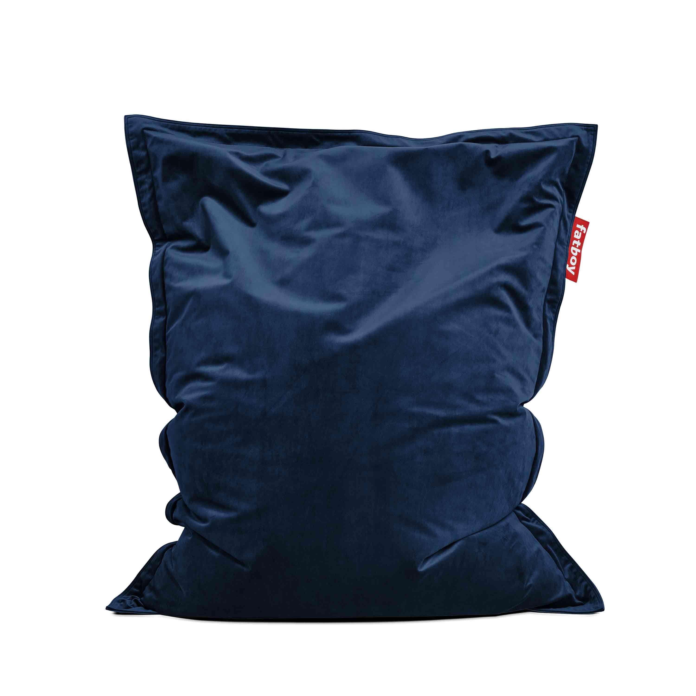 fatboy Sitzsack Original Slim Velvet Dark Blue