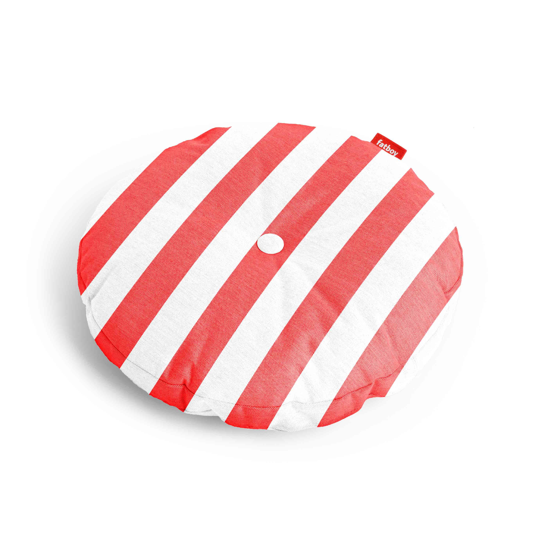 fatboy Kissen Circle Pillow Outdoor Stripe Red