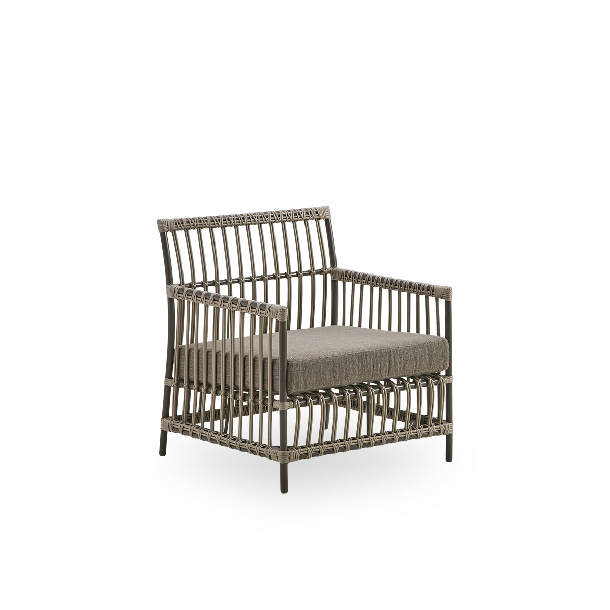 Sika Design Lounge-Sessel Caroline Moccachino