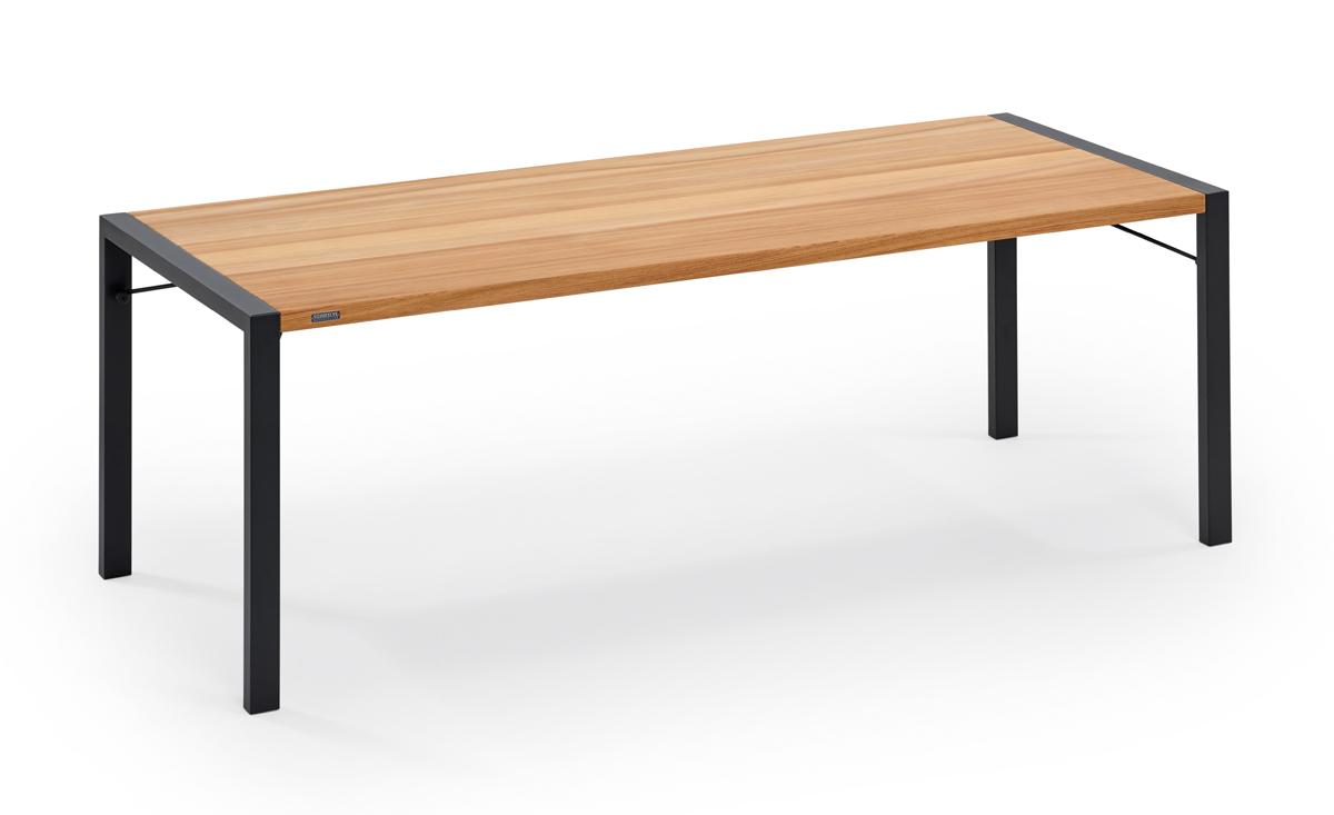 Weishäupl Gartentisch Flip 180x90 cm Schwarz