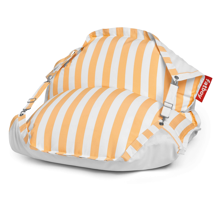 fatboy Schwimmender Sitzsack Original Floatzac Stripe Yellow