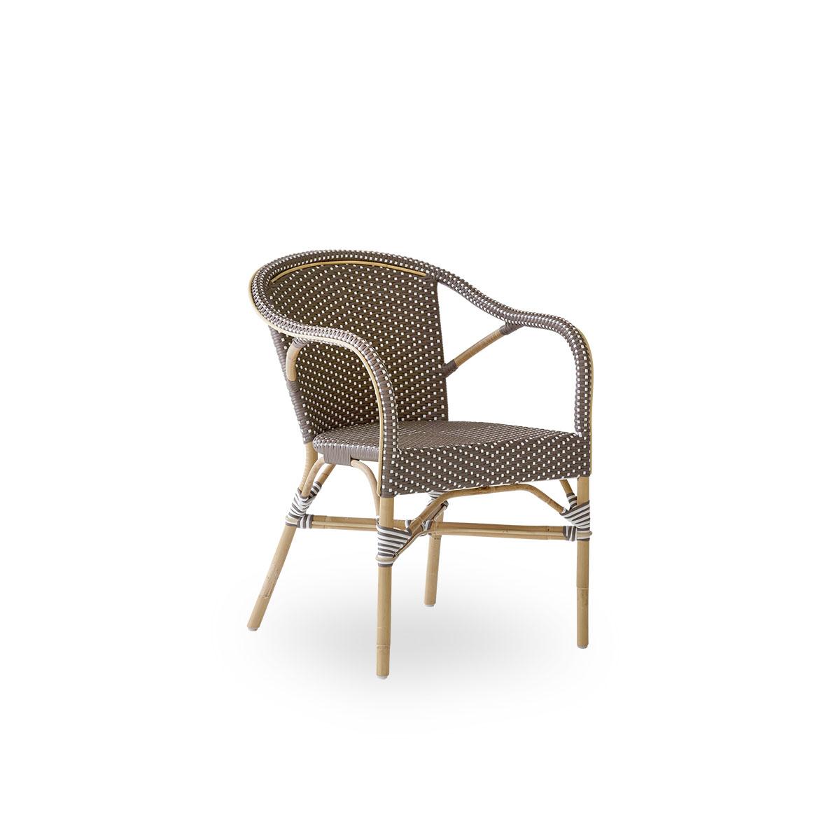 Sika Design Gartenstuhl Madeleine Cappuchino