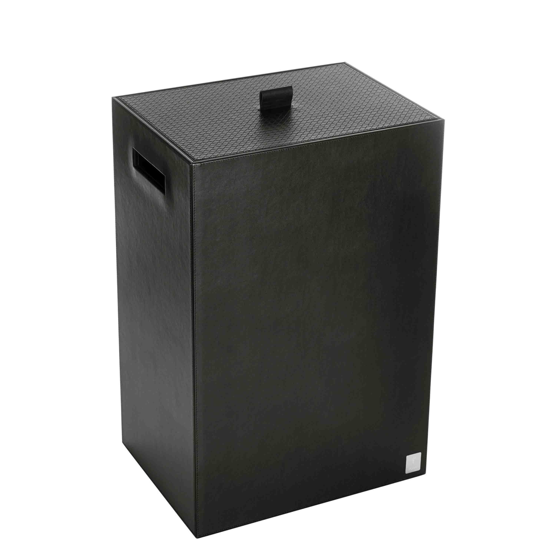 Joop! Wäschebehälter Bathline 40x60x30 cm Schwarz