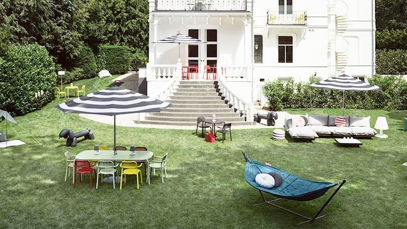 Fatboy Outdoor Stühle und Gartentische