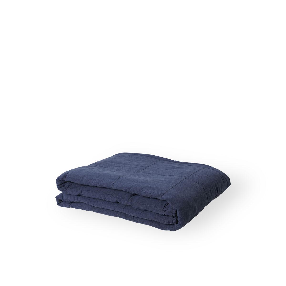Sika Design Plaid 200x140 cm Marine Blau