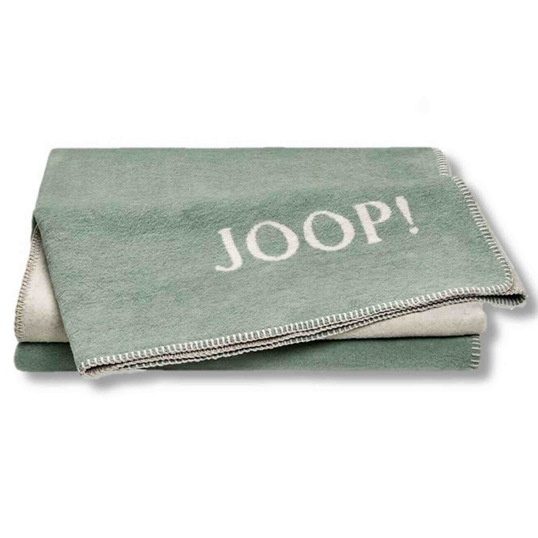 Joop! Wohndecke Uni Doubleface 150x200 cm Jade Natur