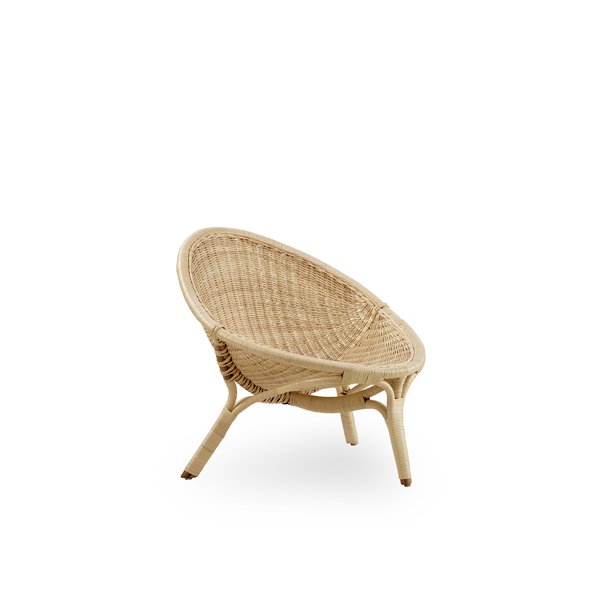 Sika Design Sessel Rana 3-Bein Natur