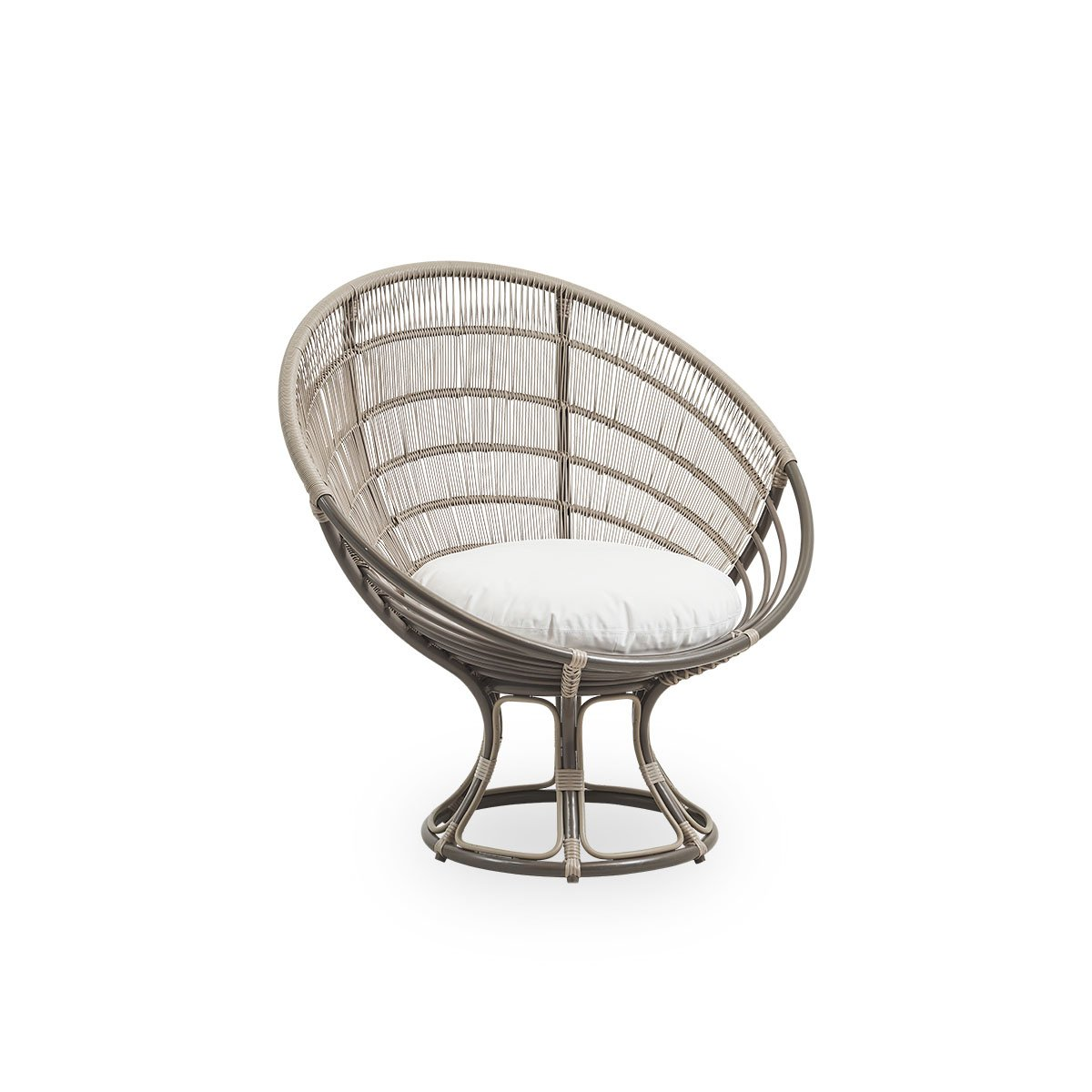 Sika Design Lounge-Sessel Luna Moccachino