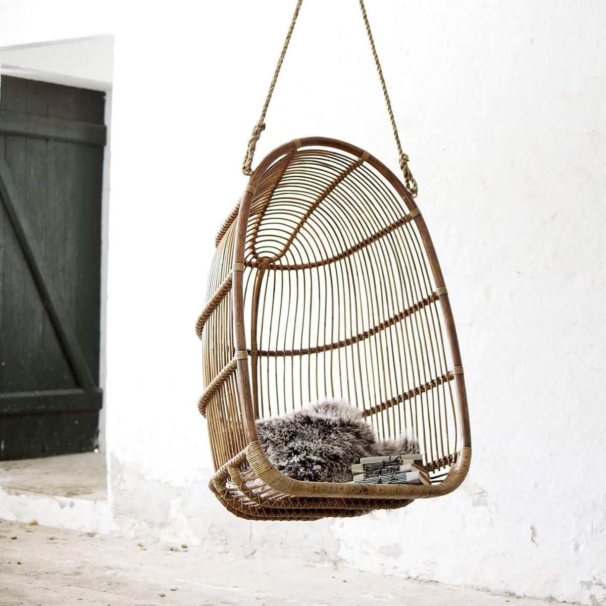 Sika Design Hängesessel Renoir Antik Braun
