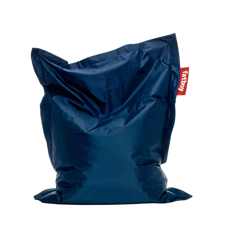 fatboy Sitzsack Junior Nylon Blau