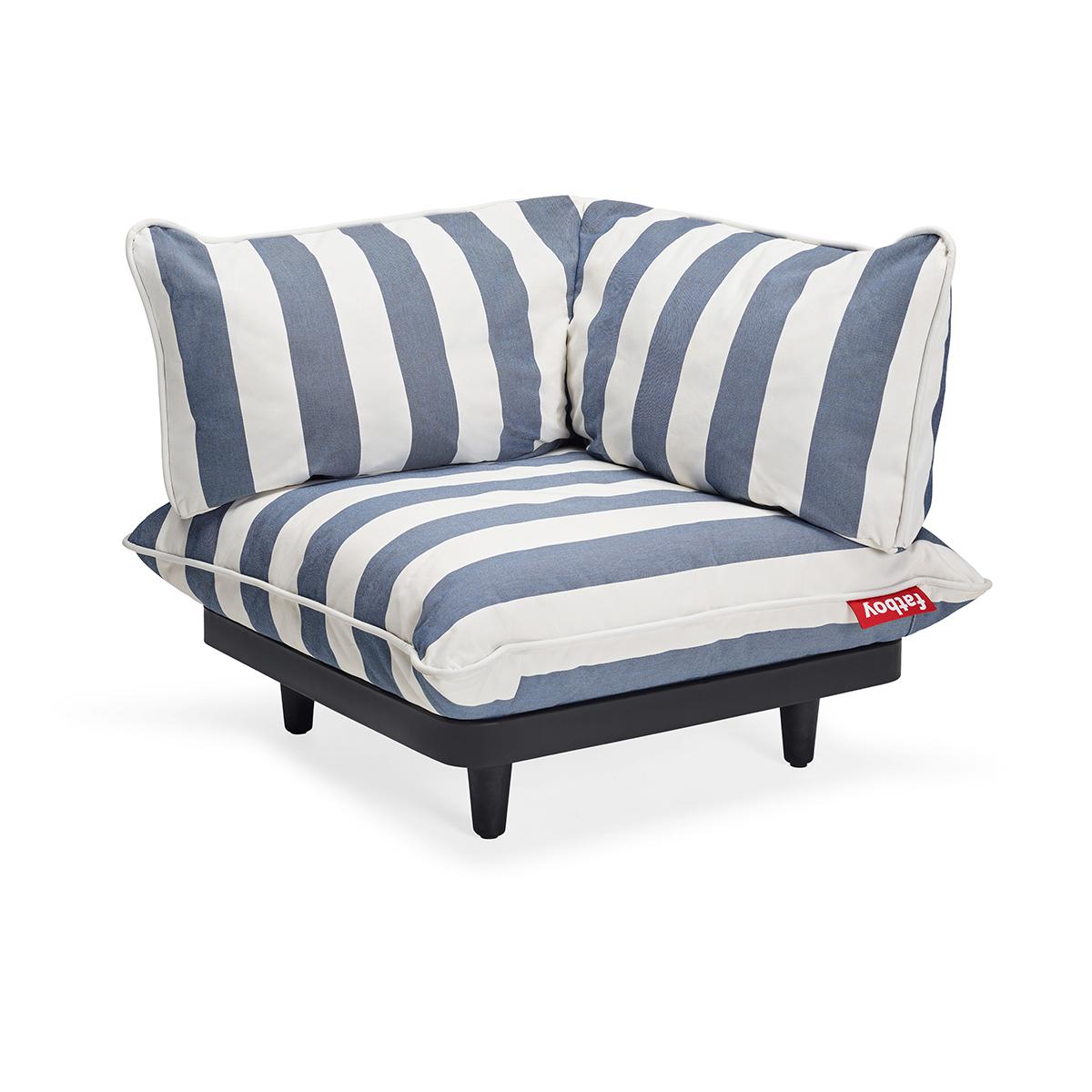fatboy Gartensofa Paletti Corner Seat Left Ocean Blue