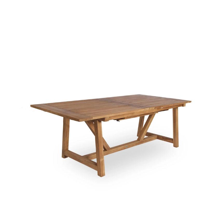 Sika Design Gartentisch George 200x100 cm Teak
