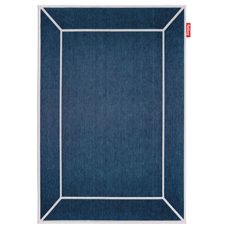 fatboy Webteppich Carpretty Grand 200x290 cm Frame Blue
