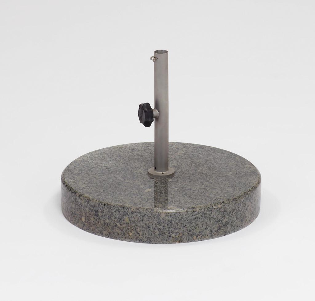 Weishäupl Bodenplatte Beton 25kg Dunkelgrau
