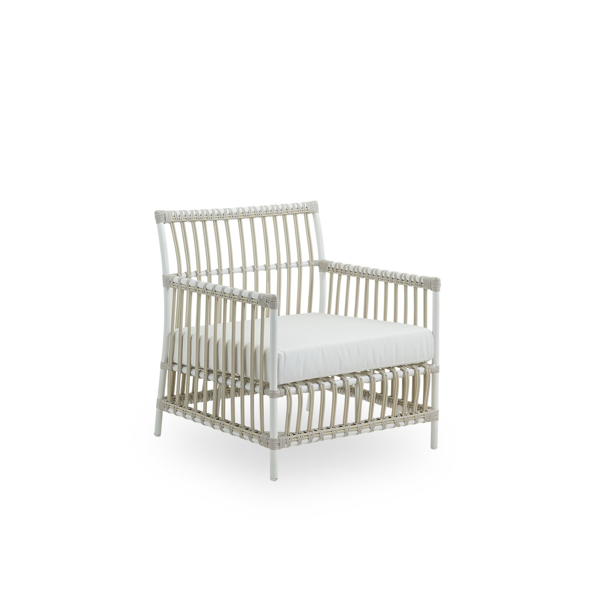 Sika Design Lounge-Sessel Caroline Weiß
