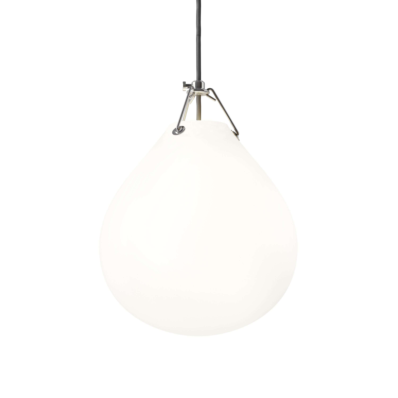 Louis Poulsen Moser Ø250 Pendelleuchte Opalglas Weiß Matt