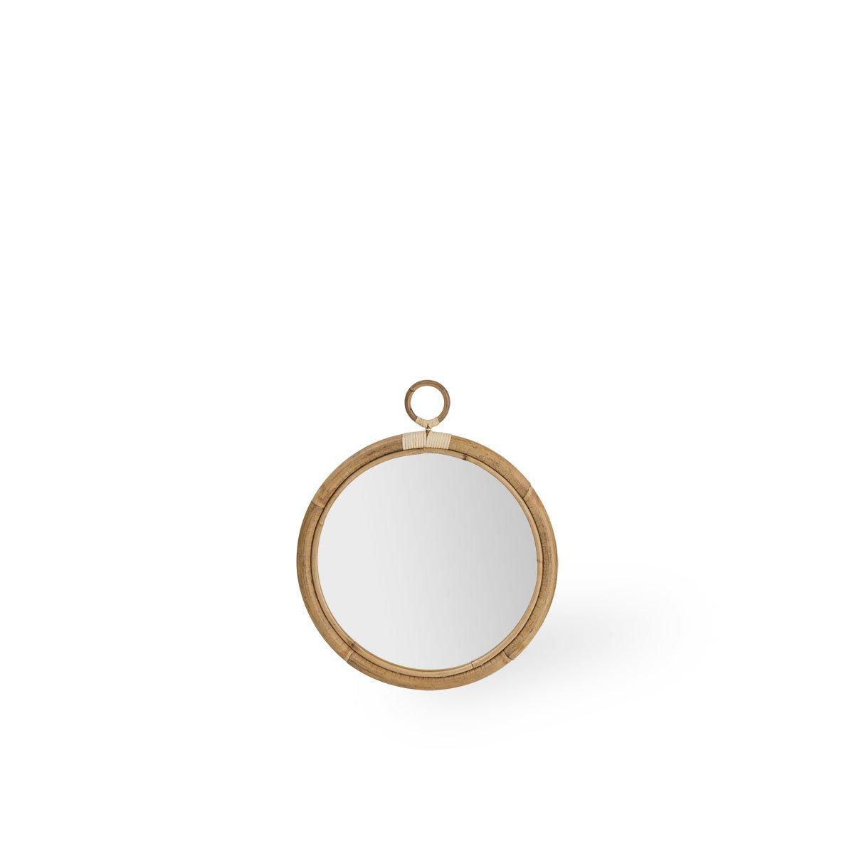 Sika Design Spiegel Ella Ø45 cm Natur