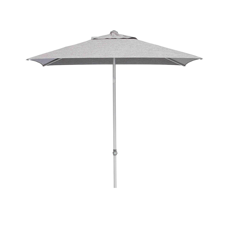 Kettler Sonnenschirm Easy Push 150x210 cm Silber/Charcoal