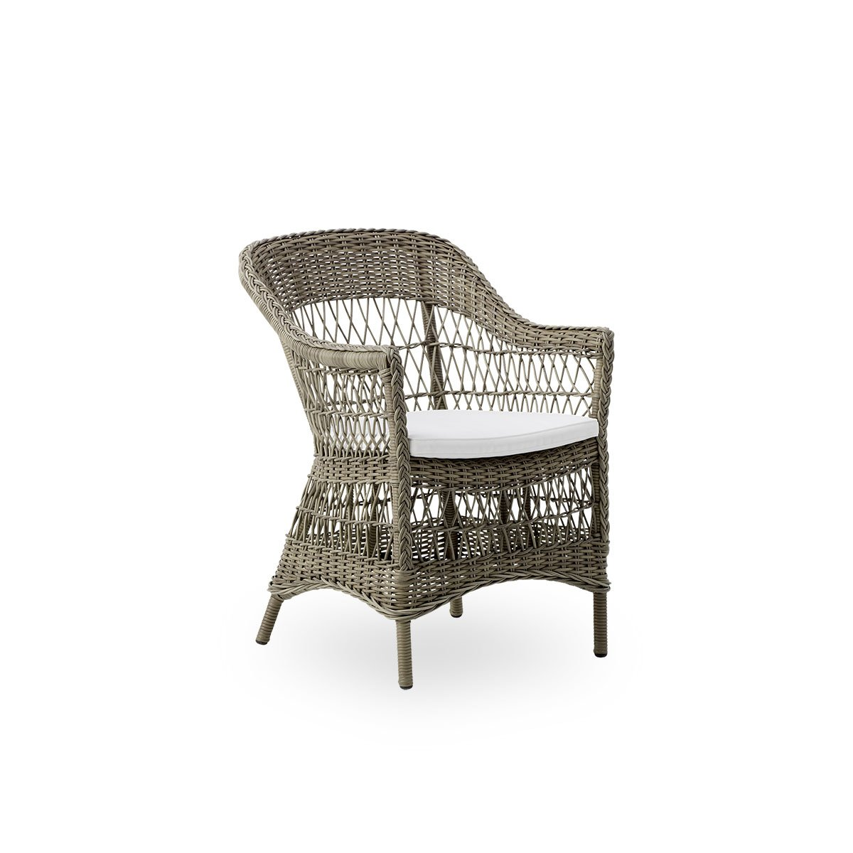 Sika Design Gartenstuhl Charlot Antik Grau