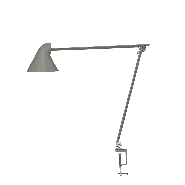 Louis Poulsen NJP Tischklemme Tischleuchte dunkelgrau aluminium